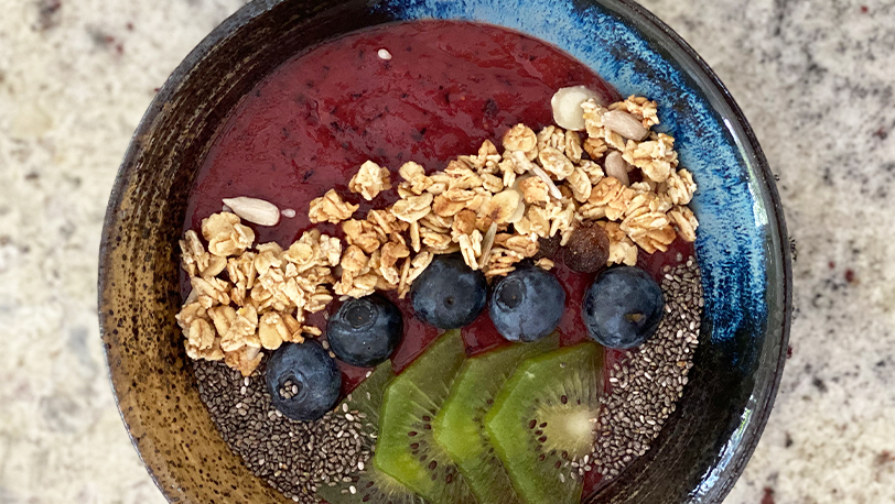 Acai Frozen Berry Booster Bowl