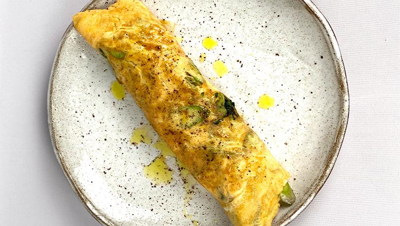 Asparagus Spring Omelette
