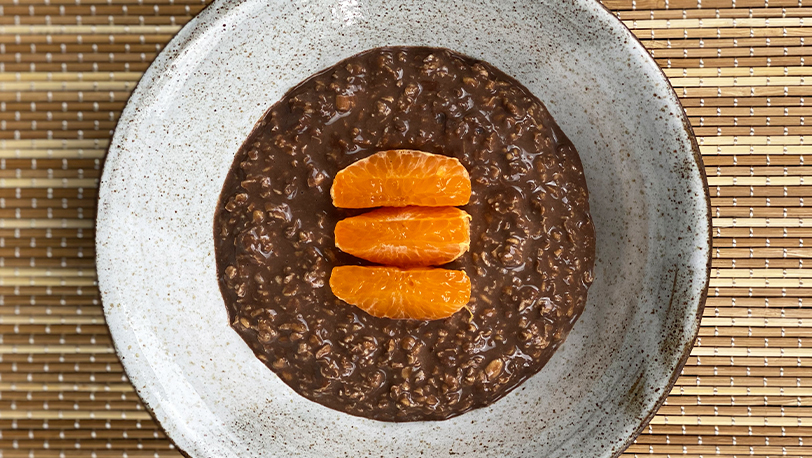 Chocolate and Orange Overnight GoGo Oats