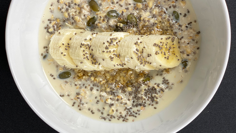 Lemongrass and Coconut Chai Seed Pudding