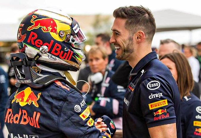 Daniel Ricciardo and Michael Italiano